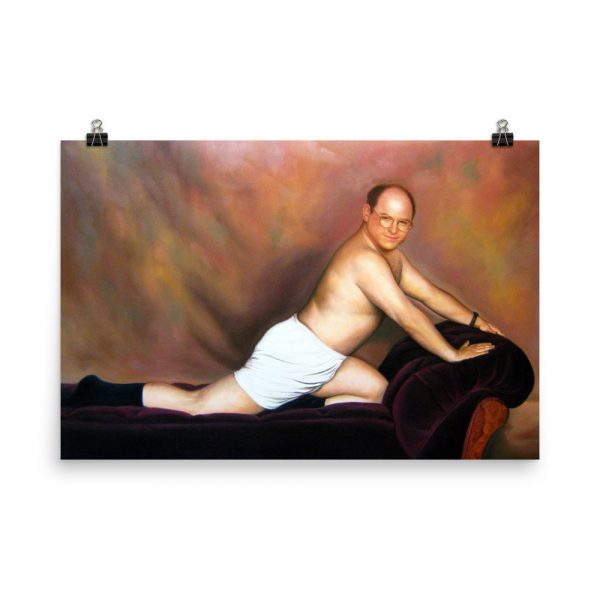 George Costanza in The Timeless Art Of Seduction